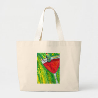 Pour a Drink Large Tote Bag