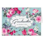 Pour la grand-mère sur les cartes de voeux du jour