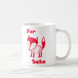 Pour la tasse de saké de RENARD.  Ayez du café