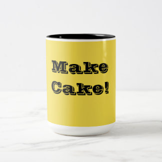 Pour le boulanger dans vous ! mug bicolore