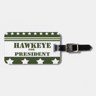 Pour le Président Hawkeye Étiquette À Bagages