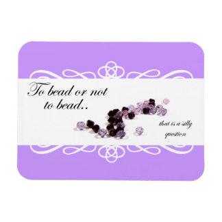 Pour perler ou ne pas perler l'aimant flexible magnets en rectangle