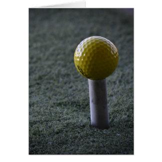 Pour votre golfeur préféré cartes de vœux
