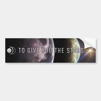 Pour vous donner les étoiles adhésif pour pare-cho autocollant de voiture