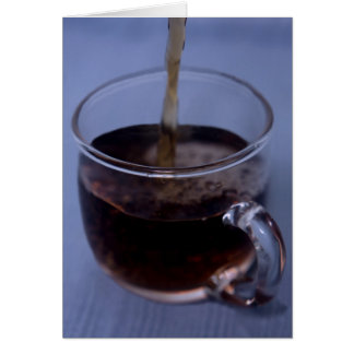 Pouring Coffee Card
