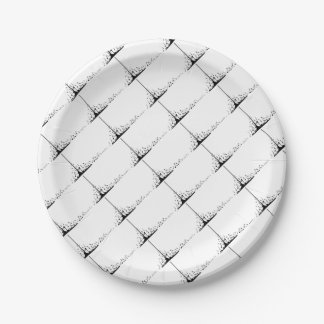 Pouring Musical Notes Paper Plate