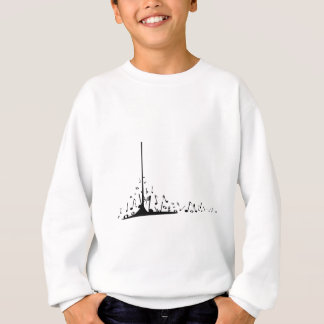 Pouring Musical Notes Sweatshirt