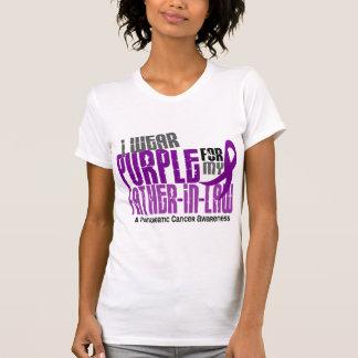 Pourpre de Cancer pancréatique pour mon beau-père T Shirts