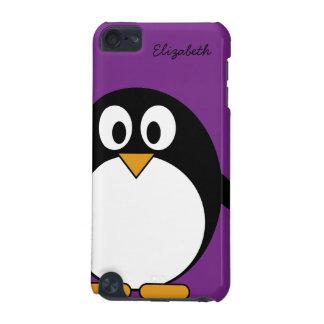 pourpre mignon de pingouin de bande dessinée coque iPod touch 5G