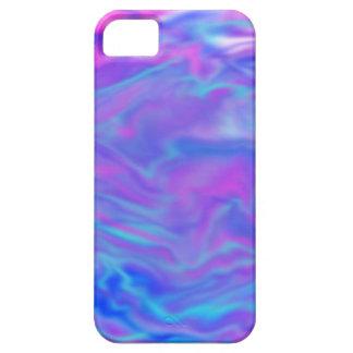 Pourpre, rose, et bleu teignez en nouant le cas de coque iPhone 5 Case-Mate