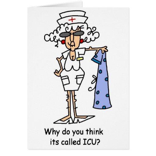 Pourquoi le pensez-vous a-t-vous appelé ICU ? Cartes De Vœux
