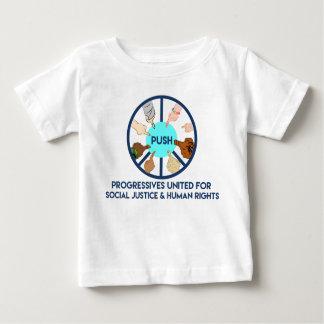 POUSSEZ la chemise d'enfant en bas âge T-shirt Pour Bébé