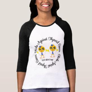 Poussins contre le cancer de la thyroïde tee shirt