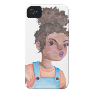 Pout Character iPhone 4 Cases
