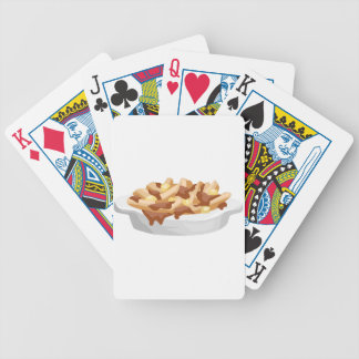 poutine bicycle playing cards