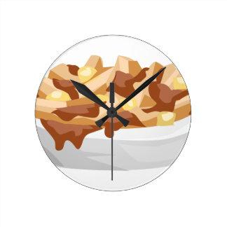 poutine round clock