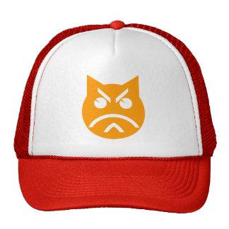 Pouting Emoji Cat Trucker Hat