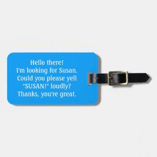 Pouvez-vous hurler pour mon propriétaire ? Étiquet Accessoires Bagagerie