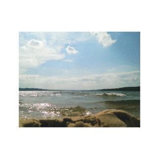 POV lake Canvas Print