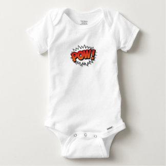 pow baby onesie