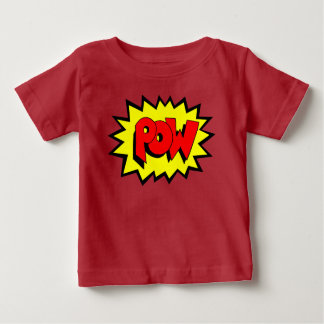 POW - Comic Book Pop Art Baby T-Shirt