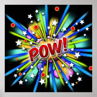 POW! Explosion print