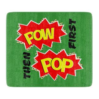 POW first, then POP Cutting Board