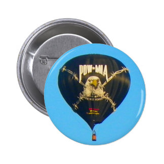 POW MIA Balloon 2 Inch Round Button