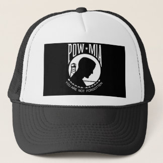 POW+MIA Flag Trucker Hat