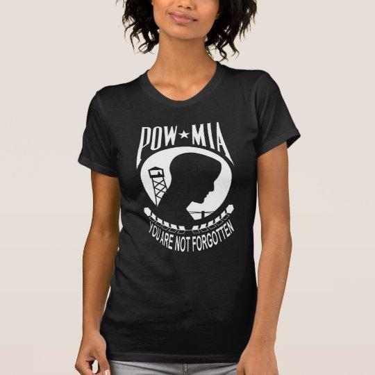 POW MIA Ladies T-shirt
