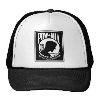POW/MIA Logo - Rectangle Trucker Hat