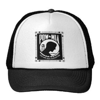 POW/MIA Rectangle Bamboo Frame Trucker Hat