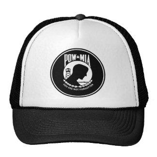POW/MIA - Round Trucker Hat