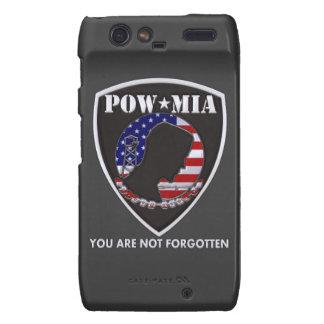 POW MIA - Shield Motorola Droid RAZR Covers
