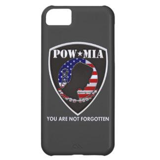 POW MIA - Shield iPhone 5C Covers