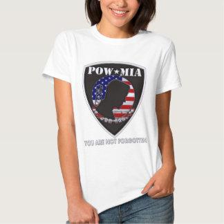 POW MIA - Shield T Shirts