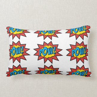 Pow! Pop Art Pillow! Lumbar Pillow