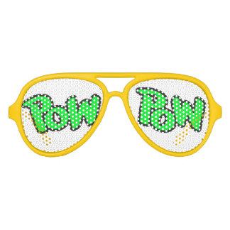 Pow Pow Aviator Sunglasses