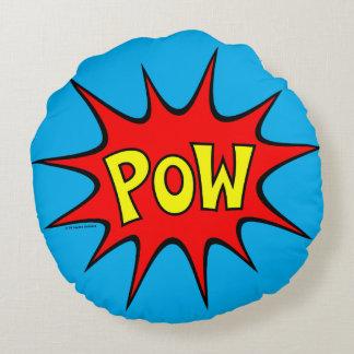 Pow! Round Pillow