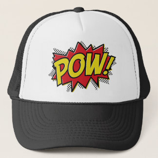 POW! TRUCKER HAT