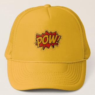 Pow ! trucker trucker hat
