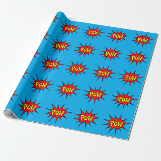 POW! WRAPPING PAPER
