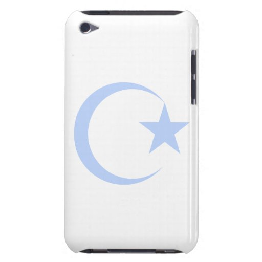 Powder Blue Crescent & Star.png iPod Case-Mate Cases