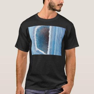 Powder Blue Geode Druzy T-Shirt