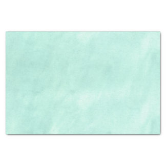 Powder Blue Marble Watercolor Pattern Tissue Paper