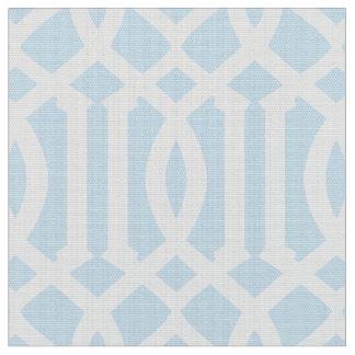 Powder Blue Moroccan Pattern | Fabric
