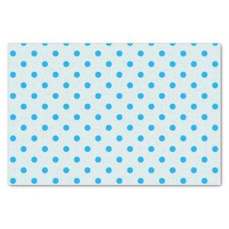 Powder Blue & Sky Blue Polka Dots Tissue Paper