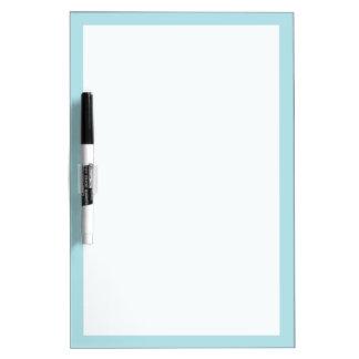 Powder Blue Solid Color Dry Erase Board