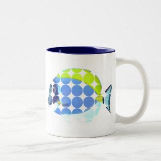 Powder Blue Tang Big Dot Photo Mug