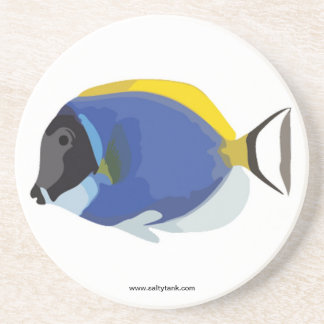 Powder Blue Tang Fish Coaster
